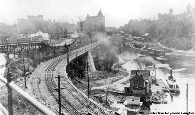 La collection raymond langlois page 3 - Rail chemin de fer rideau ...